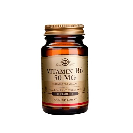 Vitamina B6 50 mg - 100 cpr