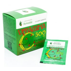 Vitamina C 500 mg macese (20 plicuri )