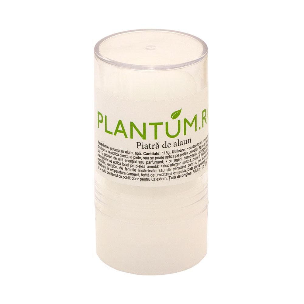 Deodorant Piatra de Alaun 115g Plantum.ro