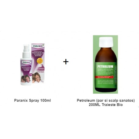 Pachet Paranix Spray 100 ML + Petroleum 100 ML