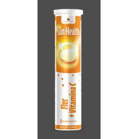 SUN HEALTH FIER + VITAMINA C 20 CPR. EFERVESCENT