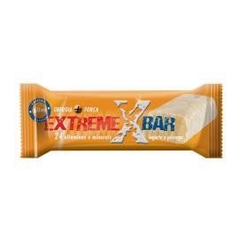 EXTREME BAR IAURT SI PIERSICI - Baton proteic energizant - 46 gr - GOLDNUTRITION®