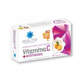 Vitamina C + Echinacea 30 cpr