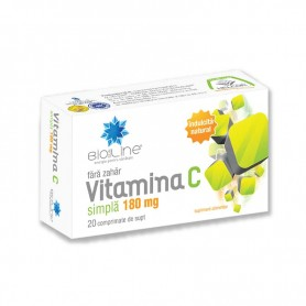 Vitamina C 180mg 20 cpr