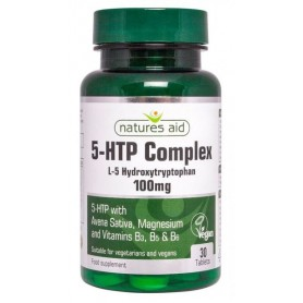 5 HTP Complex 100Mg 30 tablete Natures Aid