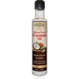 Ulei lichid de cocos 250 ml Natures Aid