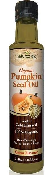 ulei organic din semințe de dovleac 250 ml