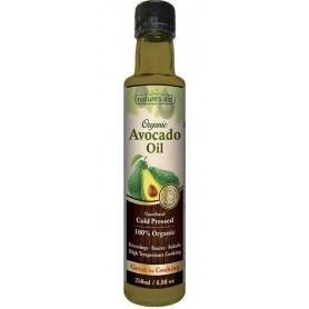 Ulei organic de avocado 250 ml Natures Aid