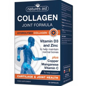 Collagen Joint Formula 60 capsule Natures Aid