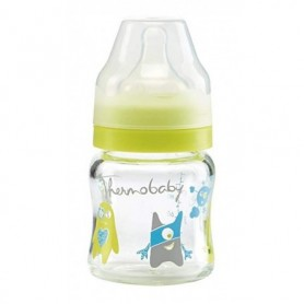 Thermobaby set 2 biberoane sticla gat larg 120ml MONSTER