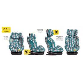 Scaun auto cu Isofix Cosatto All in All GR 0,1,2,3, Mini Mermaids