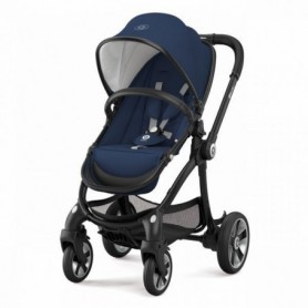 Kiddy Set Evostar 1 + scoica auto Evoluna i-Size, Night blue