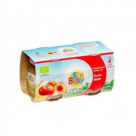 SunBaby Piure Bio de fructe mixte 2x100 gr