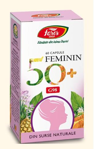 feminin 50+ 60 capsule fares