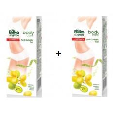 Gel Anticelulitic Cu Strugure alb + Caffeine 180 ML Bilka