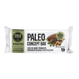 PALEO BAR ALUNE DE PADURE SI CACAO 50g - GOLDNUTRITION