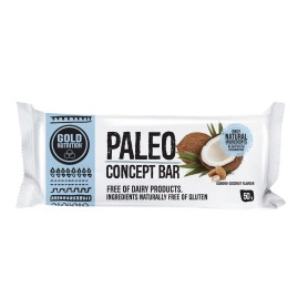 PALEO BAR MIGDALE SI COCOS 50g - GOLDNUTRITION