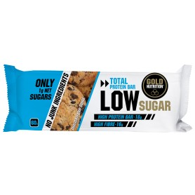 PROTEIN BAR LOW SUGAR BISCUITI 60gr - GOLDNUTRITION
