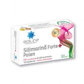 Silimarina Forte + Polen 30 comprimate