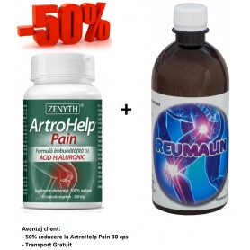 Artrohelp Pain + Reumalin 500 ML (calmeaza durerile)