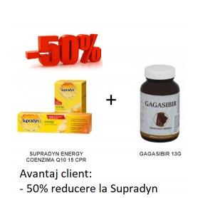 SUPRADYN ENERGY COENZIMA Q10 15 CPR EFERVESCENTE + GAGASIBIR 13 G