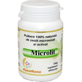 ZEOLIT MICRONIZAT SI ACTIVAT, AQUANANO- MICROLIT 100gr AGHORAS