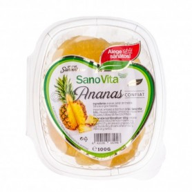 ANANAS CONFIAT 100G SANOVITA