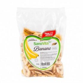 Banane Chips, 150g Sanovita