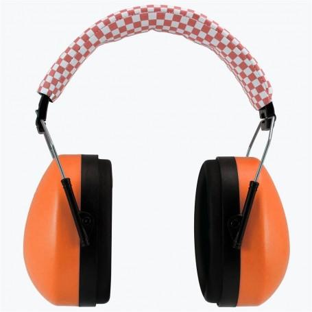 Casti protectie fonica pentru copii (portocaliu) 18+