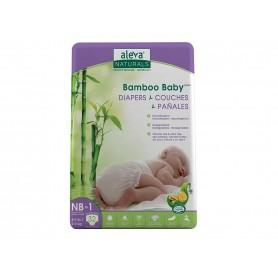 AN Scutece vegane din fibre de bambus Newborn 1 (32) 2-4kg