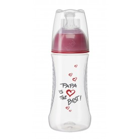 "BIBERON PP BIBI ""MAMA/PAPA"" ALL IN-1 260ML"
