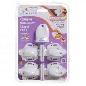 Dreambaby-Sigurante adezive magnetice setx4 +1cheie