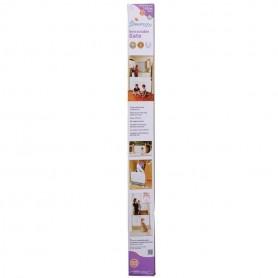Dreambaby-Poarta de siguranta retractabila alba 140cm