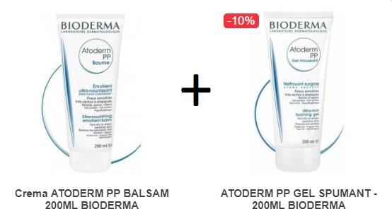 Pachet Atoderm Balsam 200ml + Spumant 200ml Cadou