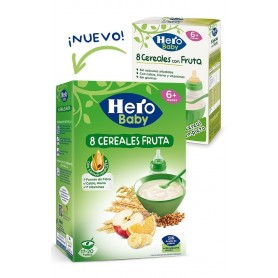 Hero Baby Natur Cereale Si Fructe 500G,+6