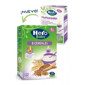Hero Baby Natur Multicereale 500G,+6
