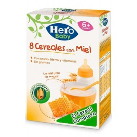 Hero Baby Natur 8Cereale Cu Miere 500G,+6