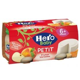 Hero Baby-Petit- Desert Branzica Cu Fructe 2X80G