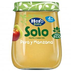 Hero Baby Solo Piure Pere Si Mere 120G Eco +4