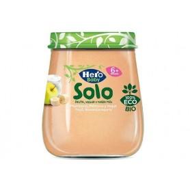Hero Baby Solo Iaurt, Mere, Banane 120G Eco +6
