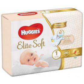 Huggies Elite Soft (1) 26 - (2-5Kg)