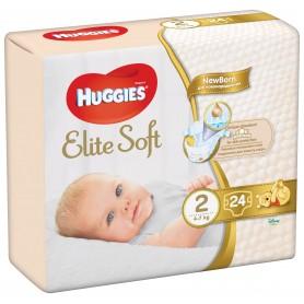Huggies Elite Soft (2) 24 - (4-7Kg)