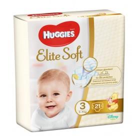 Huggies Elite Soft (3) 21 - (5-9Kg)