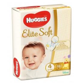 Huggies Elite Soft (4) 19 - (8-14Kg)