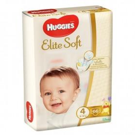Huggies Elite Soft (4) Mega 66- (8-14Kg)