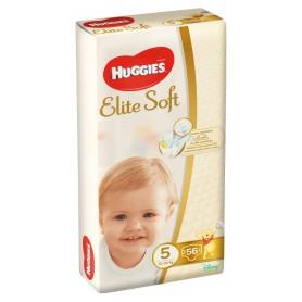 Huggies Elite Soft (5) Mega 56- (12-22Kg)