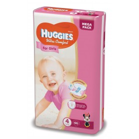 Huggies Ultra Confort Girl 4 (66) 8-14Kg