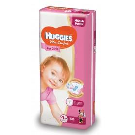 Huggies Ultra Confort Girl 4+ (60) 10-16Kg