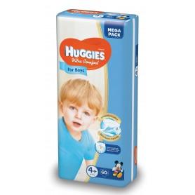 Huggies Ultra Confort Boy 4+ (60) 10-16Kg