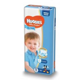 Huggies Ultra Confort Boy 5 (56) 12-22Kg